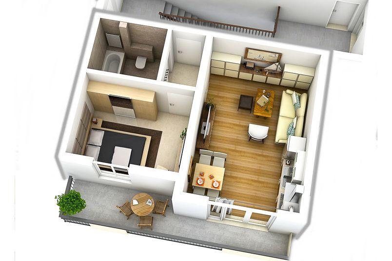 Apartamente 2 camere, 39 mp, Cartier Rezidential Alma