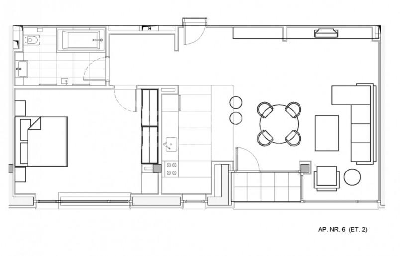 Apartamente 2 camere, 92.53 mp, Verdi Park Residence