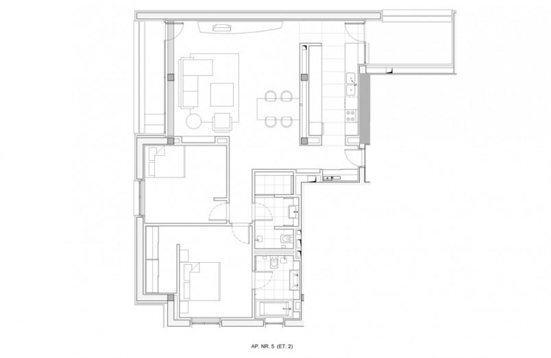 Apartamente 3 camere, 157.14 mp, Verdi Park Residence