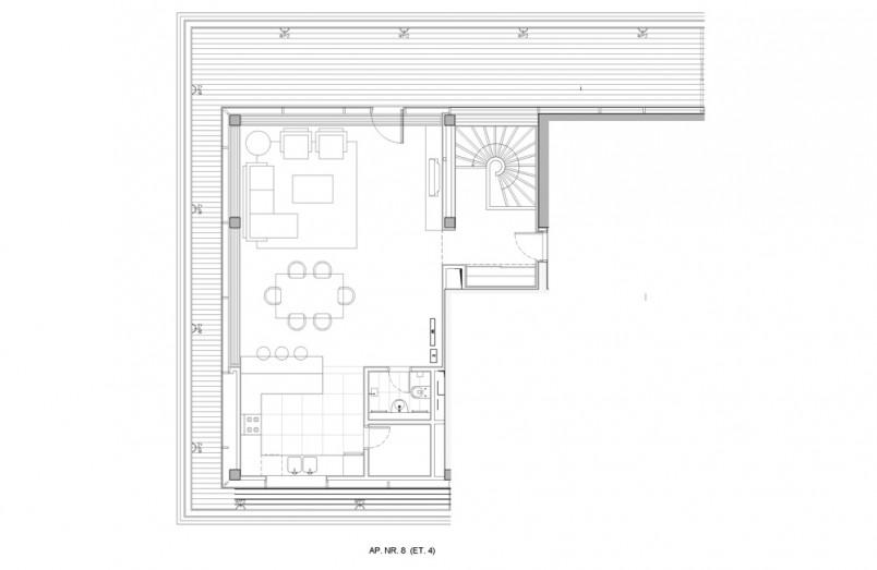 Apartamente 4 camere, 309 mp, Verdi Park Residence