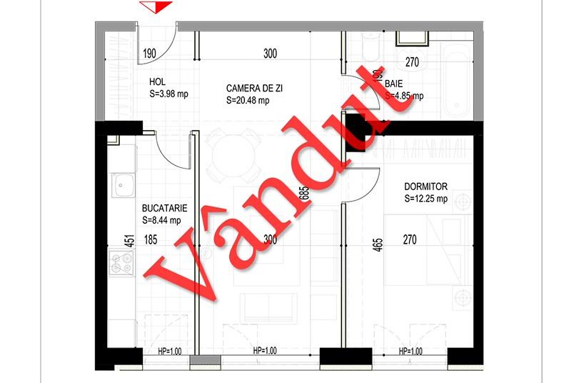 Apartamente 2 camere, 50 mp, Model L, Timisoara 58 Apartments