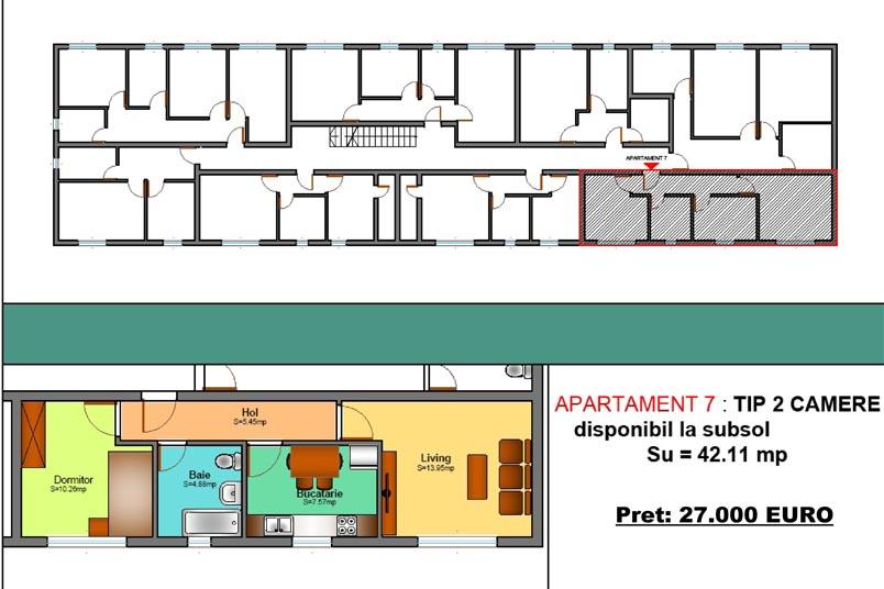 Apartamente 2 camere, 42 mp, Family Residence Metalurgiei