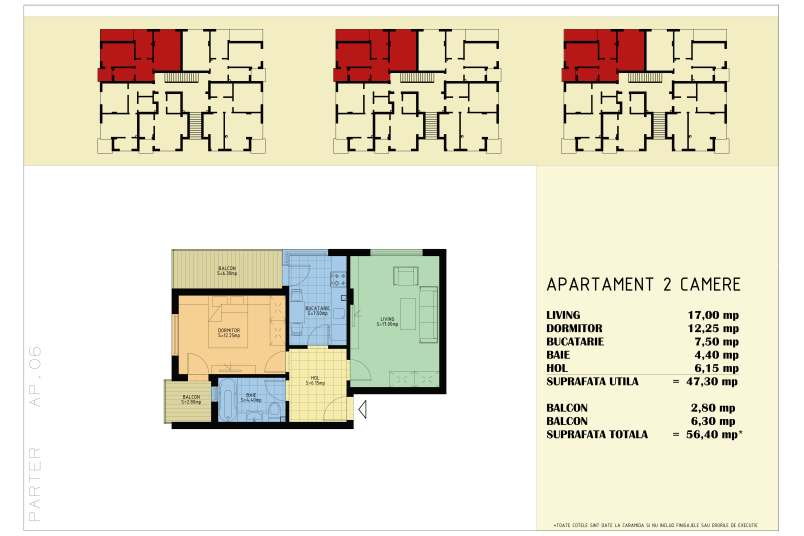 Apartamente 2 camere, 56 mp, Happy Home Residence Berceni 3