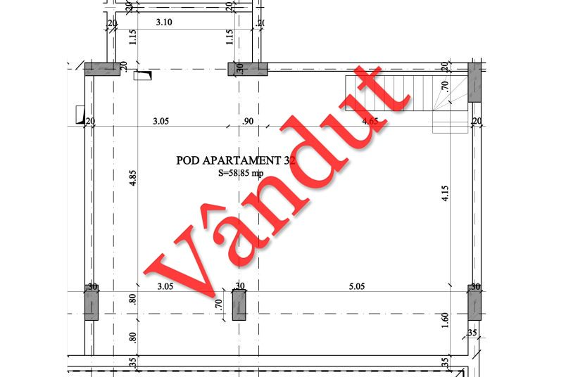 Duplex 4 camere, 49 mp, Nr. 32 E4 C1, Berceni Residence II