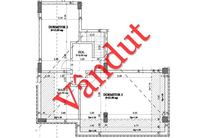 Duplex 4 camere, 57 mp, Nr. 33 E4 C1, Berceni Residence II