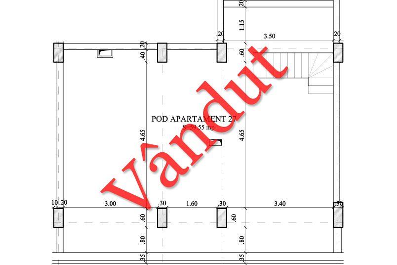 Duplex 4 camere, 49 mp, Nr. 27 E4 C2, Berceni Residence II